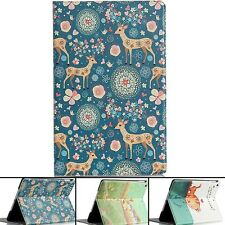 Cute Printing Pattern Cover PU Leather week up Stand Smart Case For iPad Air 5