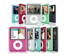 "6 Color 8GB 2"" LCD Screen MP3 MP4 Multimedia music Video Player FM Radio GD"