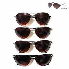 PREMIUM QUALITY Aviator Sunglasses w/Driving Lens Metal Spring Temple Frame UV