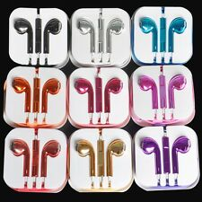 Earphone Earbud Headset Volume Remote Mic For iPhone 5 3 4S i Pad Touch