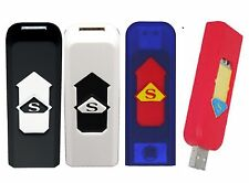 USB RECHARGEABLE CIGAR CIGARETTE FLAMELESS ELECTRONIC LIGHTERs