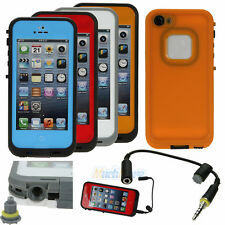 New Waterproof Shockproof Dirt Dust Proof PC Hard Cover Case For iPhone 5 5G 5S