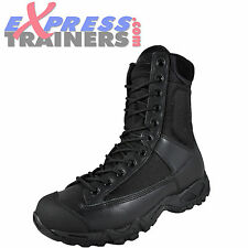 Magnum Mens Classic Tac Original Leather Tactical Boots Black * AUTHENTIC *
