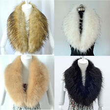 Women's faux fur collar raccoon fur scarf shawl collar Scarves lovely & warmer