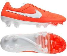 Nike Tiempo Legend V 5 FG Soccer Cleats ACC NIB 631518-810 Total Crimson/White