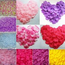 500pcs Luxury Silk Flower Rose Petal Leaves Wedding Bridal Party Decoration