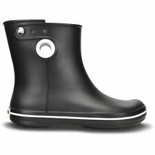 Crocs Jaunt Shorty Boot Black, Fully molded Croslite mid height waterproof boot