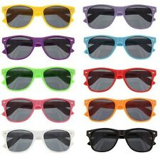 Multi-Color Wayfarer Beach Style Sunglasses 100% UV400 Ships from USA!