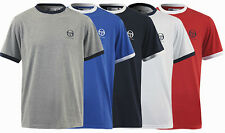 New - Men's Sergio Tacchini T-Shirt - Blue White Red Grey Navy Retro Vintage Top