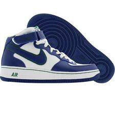 Nike Air Force 1 Mid (white / royal blue / green) 308937-144