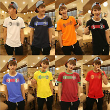 2014 casual Short sleeve T shirt Brazil World Cup fans essential clothing
