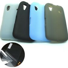 Soft Silicone Skin Case Cover + LCD Film for Samsung Galaxy Ace S5830, S5830i