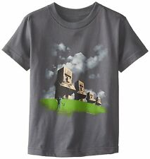 Minecraft Statues Officially Licensed Authentic Youth Kids T-shirt