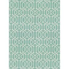 Threshold™  Rectangular Patio Rug - Turquoise Lattice