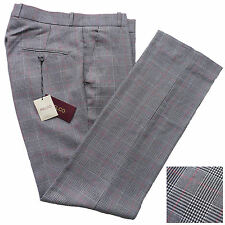 Prince Of Wales Sta Press Trousers By Relco Mod Skinhead 60's Ska Vtg Retro New