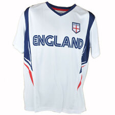 Rhinox Group England Official World Cup Soccer Futbol Jersey T1J02 Mens