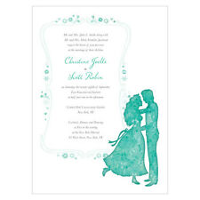 Wedding Reception Personalized Stationery ONCE UPON A TIME Invitation Cards