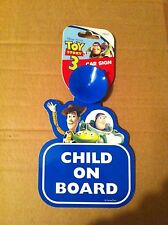 Disney Pixar Toy Story 3 and Hello Kitty Child Baby On Board Car Safety Sign