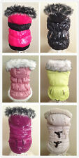 Warm Snow Jacket Custome dog clothes Chihuahua Small Breeds