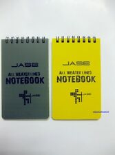 1/2/5/10pcs 3x5 All Weather Notebook Waterproof Writing Paper in Rain Note Book