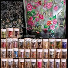 1 Roll Nail Art Transfer Foil Nail Sticker Tips Decal Decoration Paper 57 Choice