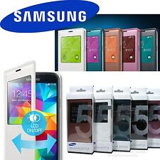 Samsung Galaxy S5 GT-I9600 100% Genuine S-View Cover Case NEW w/Retail Box +GIFT