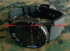Suunto Core Bell & Ross Homage Silicone Rubber Strap Band Kit w PVD Buckle Lugs