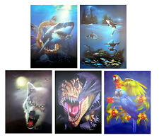 NEW 3D Pictures/Posters Lenticular Animal Art Picture Print Wall Decor Image