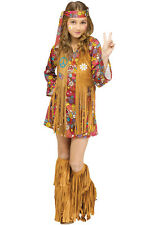 Brand New Peace and Love Hippie Child Costume