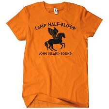 CAMP HALF-BLOOD LONG ISLAND SOUND Mens T-Shirt Tee Percy Olympus Jackson Book