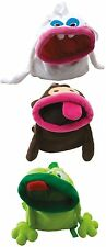 JIP Brand Animal Frog, Rabbit or Monkey Fleece Backpack
