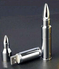 New Metal bullets model USB 2.0 Enough Memory Stick Flash pen Drive 4-32GB YH018