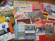 1968-87 - League Cup Semi-Final Match Programmes