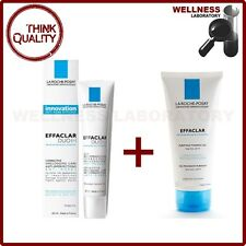 LA ROCHE-POSAY Effaclar Duo[+] Cream 40ml + Effaclar Purifying Foaming Gel 125ml