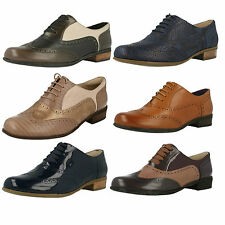 Clarks Hamble Oak Smart Leather Brogue Style Lace Up Shoes
