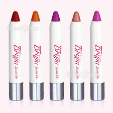5Colors Makeup Lipstick Pen Icecream Lip Balm Rouge Long Lasting Bright Cosmetic