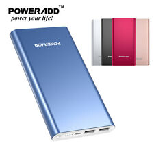 Poweradd Pilot 2GS 10000mAh Battery Power Bank For iPhone Samsung Galaxy Tablets