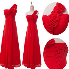CHEAP SALE Popular Long Wedding Party Ball Gown Graduation Prom Bridesmaid Dress