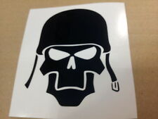 STICKER AUTOCOLLANT CASQUE SKULL SOLDAT TUNING STICKERS VYNIL VOITURE INT/EXT