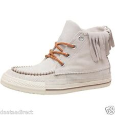 Converse Womens All Star Trainer Moccasins Mid Off White shoes,boot x RRP £64.99