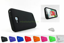 for LG Optimus L90 Soft Silicone Case Rubber Gel Skin Cover+PryTool