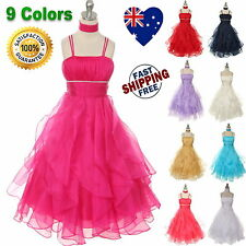 Flower Girl Dress, Pageant, Birthday Party Girls Dress Size 4 to 14 ♥ RRP: $135♥