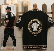NEW graffiti hip-hop men's sleeve t-shirt clothes casual man Short sleeve V03