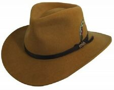 Men's Dorfman Pacific Scala Classico Crushable Outback Wool Felt Hat