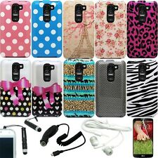 IMAGE DESIGN RIGID PLASTIC COVER FITTED SNAP ON 2 PIECE HARD CASE for LG G2 MINI