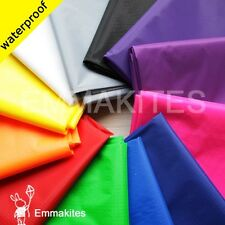 US STOCK 2 Yards Ultra-thin PU Coated Ripstop Nylon Fabric / 14 Colors Material