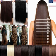 Clearance Stock Half Full Head Clip In Hair Extensions Heat Resistant hair hst