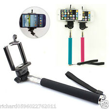 Extendable Self Portrait Selfie Handheld Monopod for Cell Phone iPhone Samsung