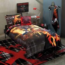 CRUSTY DEMONS Inferno Boys Single Bed Doona Duvet Quilt Cover Set - Licenced NEW