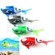 Robo Fish Water Activated Emulation Shark Electric Clown Fish Kids Toy Gift New